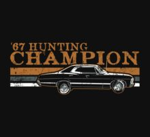 '67 Hunting Champ (gold variant) by wytrab8