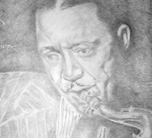 Cool Prez - Lester Young  by Charles Ezra Ferrell
