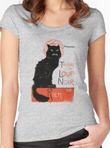 Loup Noir Women's Fitted Scoop T-Shirt