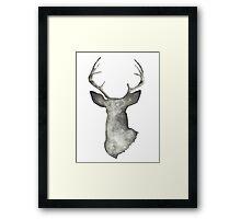 Bambi Wears Black Framed Print