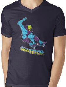 Skatetor Mens V-Neck T-Shirt