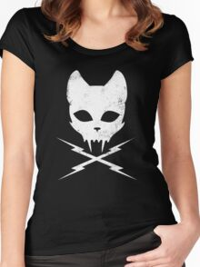 Stunt Kitty Women's Fitted Scoop T-Shirt