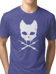 Stunt Kitty Tri-blend T-Shirt