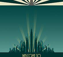 Bioshock 1: Poster by mariafumada