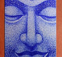 70cm x 50cm Buddha  Canvas ready to Hang by thegallery