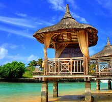 Mauritius Bungalos by Kirk  Hille