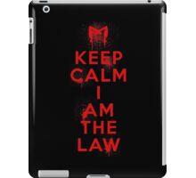 Dredd Keep Calm iPad Case/Skin