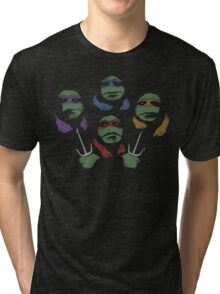 Ninja Rhapsody (multi colors) Tri-blend T-Shirt