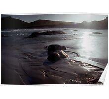 Beach Silhouette Poster