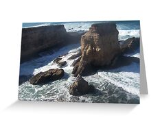 Montano De Oro Greeting Card