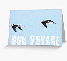 Bon Voyage - Greeting Card - NZ Greeting Card
