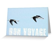 Bon Voyage - Greeting Card - NZ Greeting Card