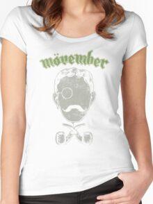 Mövember Head Women's Fitted Scoop T-Shirt