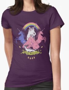 Candy Mountain Womens Fitted T-Shirt