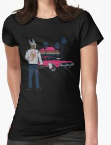 Thunder Drive Womens Fitted T-Shirt