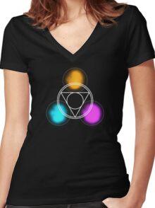Invoke Women's Fitted V-Neck T-Shirt