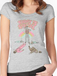 Today Is Special Women's Fitted Scoop T-Shirt