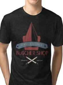 The Silent Butcher Tri-blend T-Shirt