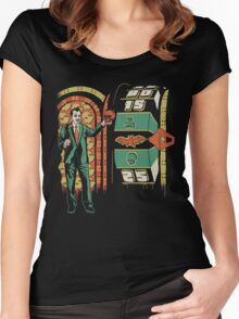 The Price Is Fright Women's Fitted Scoop T-Shirt