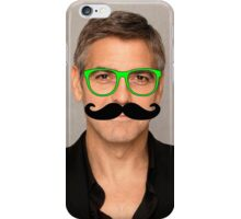 George Clooney Hipster iPhone Case/Skin