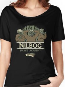 Nilbog Dance Academy Women's Relaxed Fit T-Shirt
