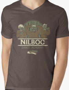 Nilbog Dance Academy Mens V-Neck T-Shirt