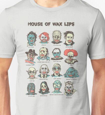 House Of Wax Lips Unisex T-Shirt