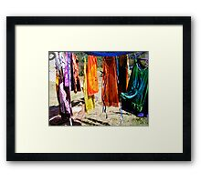 fairy dresses Framed Print