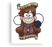 Born to be Mabel Canvas Print