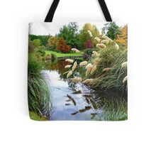 Nature's Autumn Painting Reflected - New Zealand Tote Bag