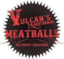Vulcan's Traditional Meatballs - BLACK by SomethingAlty