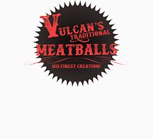Vulcan's Traditional Meatballs - BLACK T-Shirt