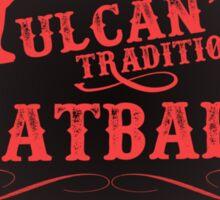 Vulcan's Traditional Meatballs - BLACK Sticker