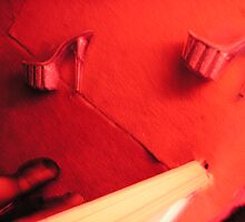 """And the red light glossed over her face""  close up detail 2 by missvaginahead"