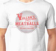 Vulcan's Traditional Meatballs - WHITE Unisex T-Shirt