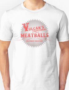 Vulcan's Traditional Meatballs - WHITE T-Shirt