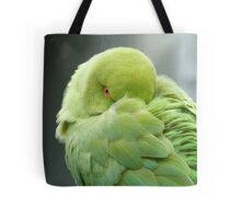 Hey I'mTrying To Catch Some Zzzzzz! - Ringneck Parrot - NZ Tote Bag