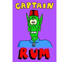 Captain Rum Photographic Print