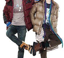 Key/Kim Kibum and Minho of SHINee inspired by EllenLouise