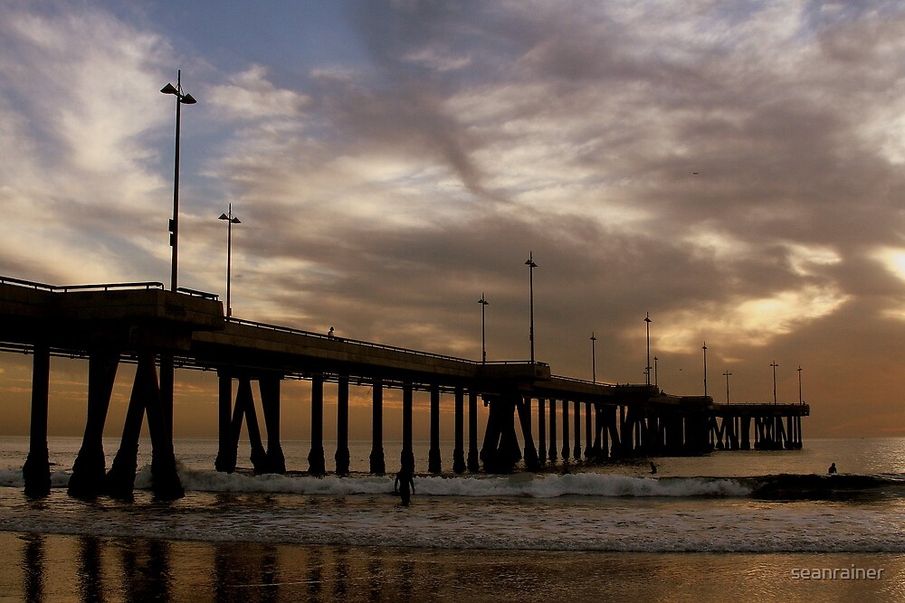 Short Walk, Long Pier by seanrainer