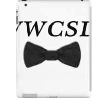 What would Charlie Skinner do? iPad Case/Skin