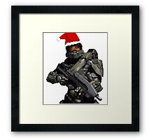 Master Chief Christmas Framed Print