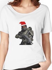 Master Chief Christmas Women's Relaxed Fit T-Shirt