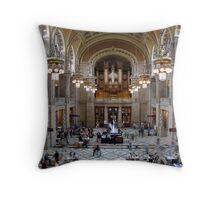 Kelvingrove Art Gallery and Museum. Throw Pillow