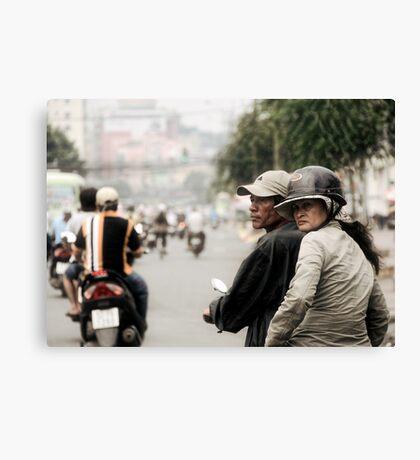 Saigon Canvas Print