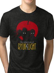 The Adventures of Ryuk & Light Tri-blend T-Shirt