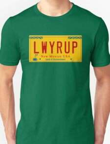License Plate - LWYRUP Unisex T-Shirt