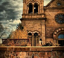 St Francis of Assisi in Santa Fe by John  De Bord Photography