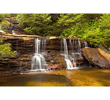 The Cascades Wentworth Falls Photographic Print