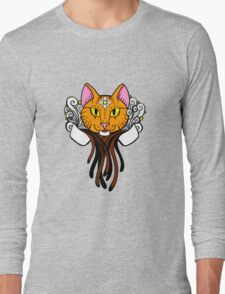 Coffee Cat - Tiger Long Sleeve T-Shirt